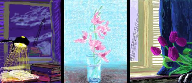 David Hockneys digitale malerier 2011