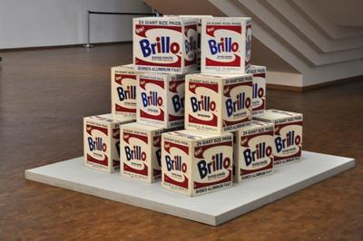 Brillo vaskepulver af Andy Warhol